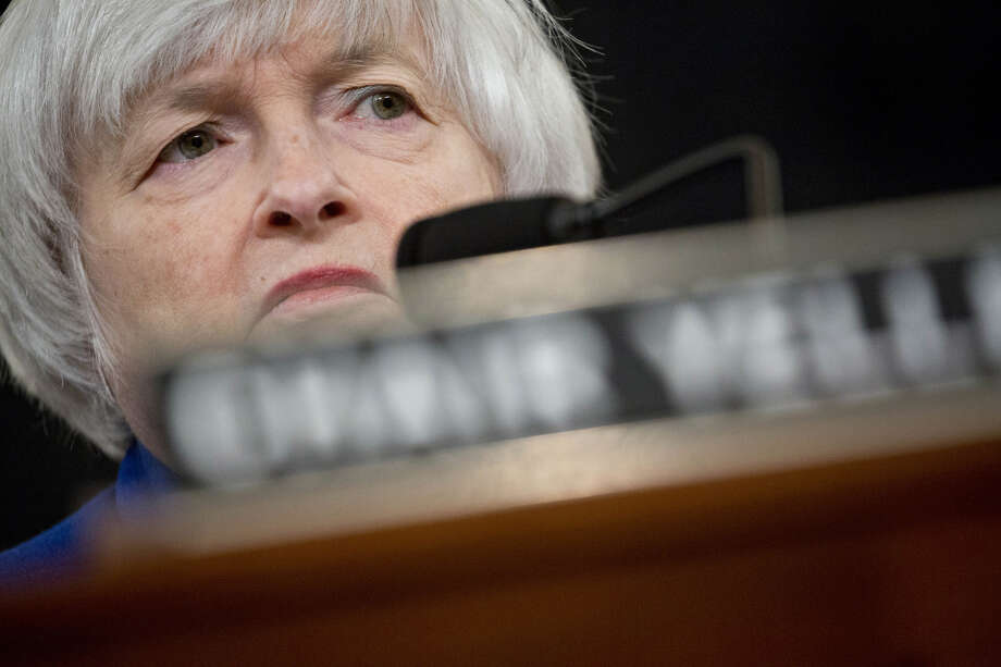 Janet Yellen, then chair of the U.S. Federal Reserve, listens during a hearing in Washington, D.C., on Nov. 29. Photo: Andrew Harrer, Bloomberg / © 2017 Bloomberg Finance LP