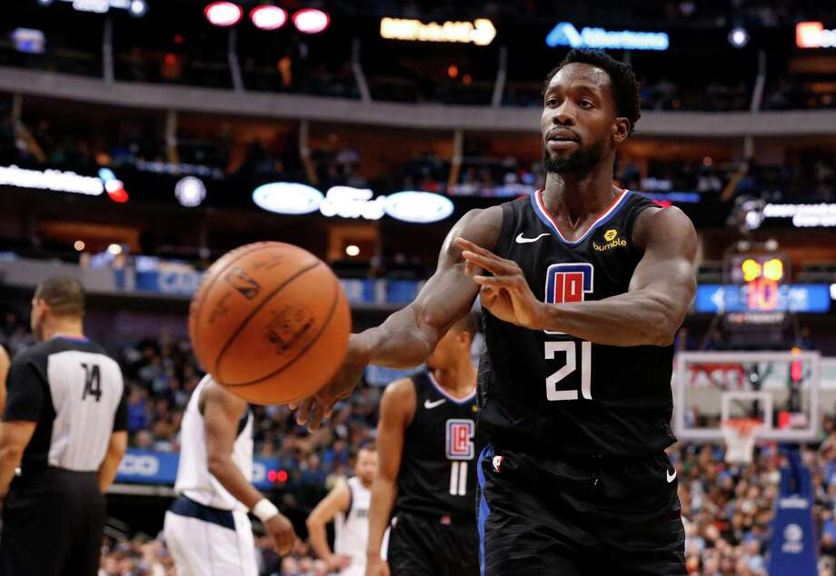 PHOTOS: Why Pat Beverley was a fan favorite when he was in Houston Los Angeles Clippers guard Patrick Beverley (21) throws a ball at a fan during the second half of an NBA basketball game against the Dallas Mavericks in Dallas, Sunday, Dec. 2, 2018. Dallas won 114-110. Beverley was ejected from the game. (AP Photo/Michael Ainsworth) Photo: Michael Ainsworth, Associated Press / Copyright 2018 The Associated Press. All rights reserved.