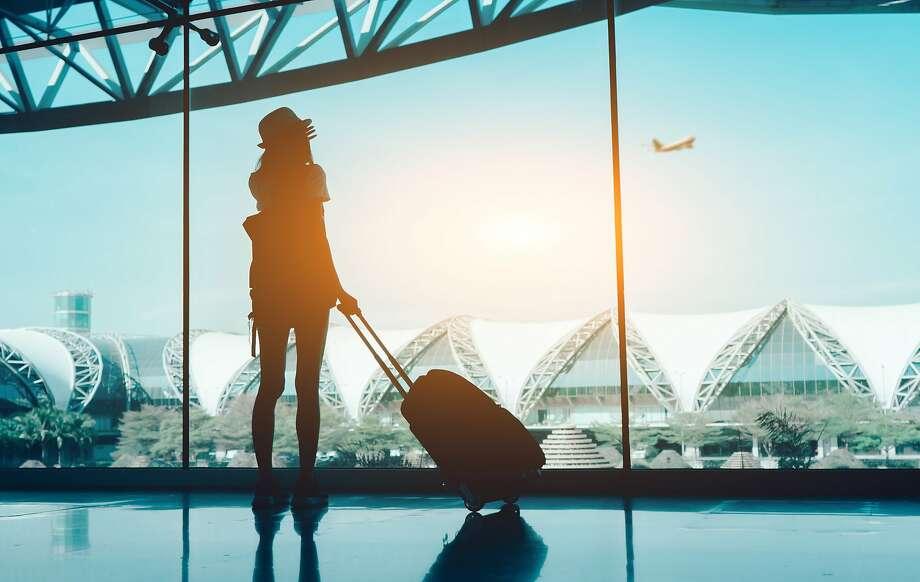 Stock image of air traveler Photo: Getty Images / EyeEm