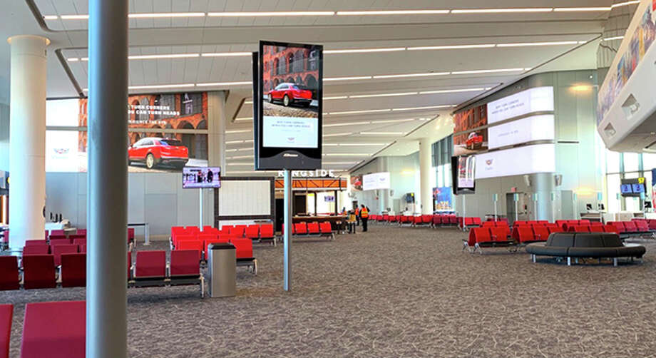The new concourse at LaGuardia's Terminal B. Photo: American Airlines