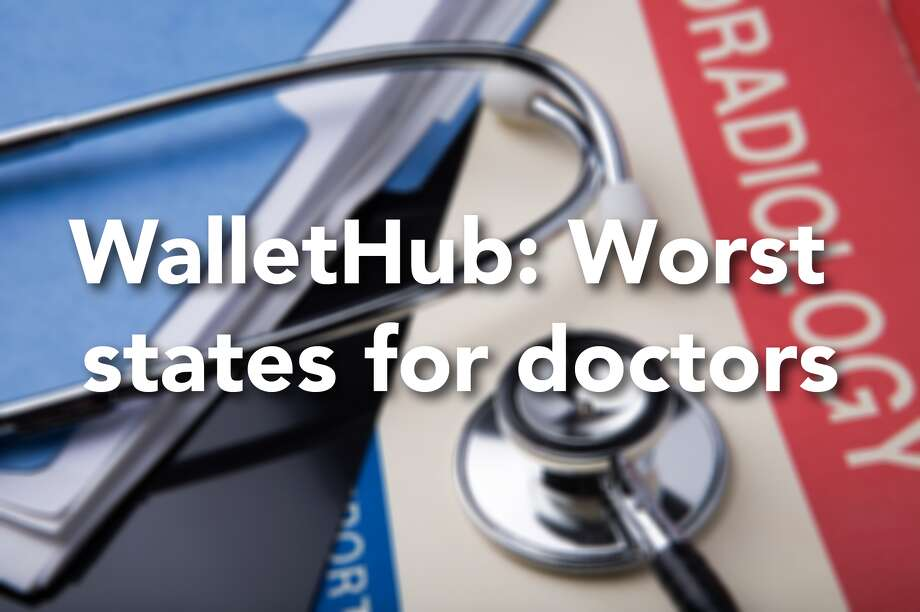 "WalletHub compared factors under two categories. ""Opportunity and Competition"" considered ten metrics, including physicians average annual wage, hospitals per capita, and number of physicians per 1,000 residents. ""Medical Environment"" considered four metrics, including quality of public hospital system and the number of serious disciplinary actions taken by the state medical board. Photo: Michael McCloskey"