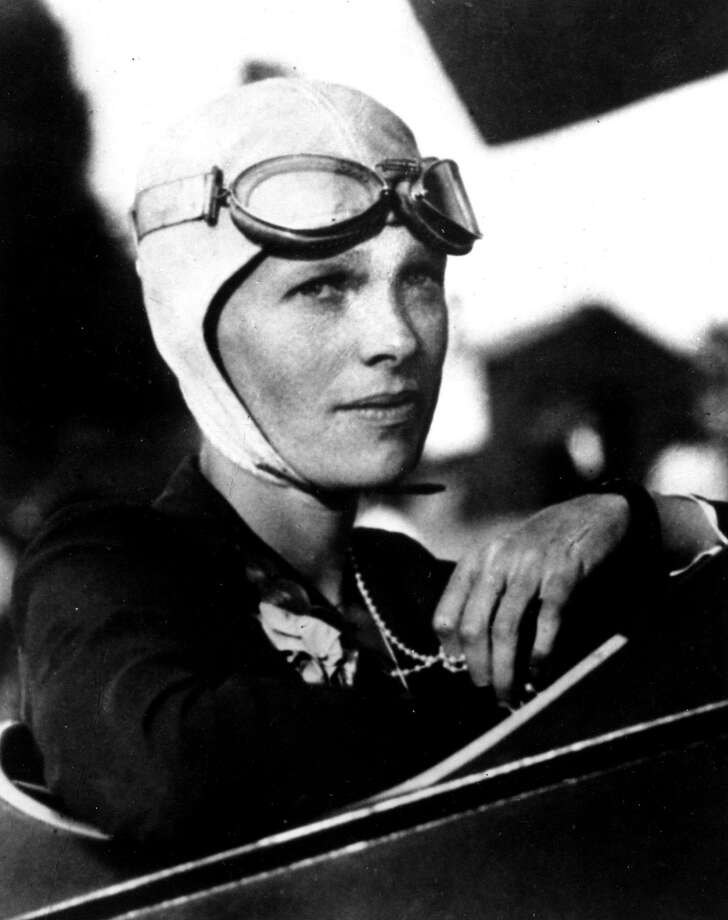 And how did you like the flight, Ms. Earhart? Photo: Associated Press File Photo