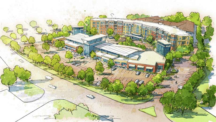 An artist's rendering of the planned 200-unit senior citizen housing project planned for part of the former Hoffman's Playland on New Loudon Road in Latham. Photo: Provided By Burke Companies