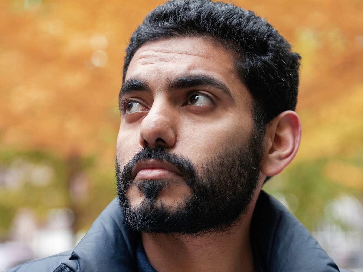Omar Abdulaziz, a friend of slain journalist Jamal Khashoggi, is shown in Montreal on Oct. 17, 2018.