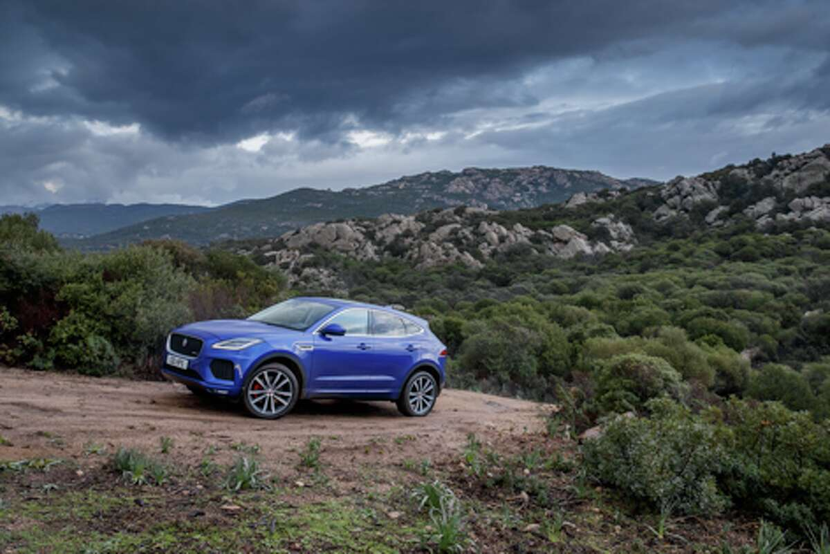 The 2018 Jaguar E-Pace R-Dynamic HSE gets 21 mpg city and 27 highway but requires premium unleaded gasoline. - photo courtesy of Jaguar North America