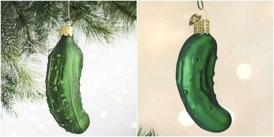 This is what it means when you see a pickle ornament on a Christmas tree - This Is What It Means When You See A Pickle Ornament On A Christmas
