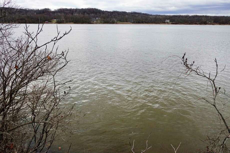 A view of section of the Hudson River which had been dredged is seen here on Monday, Dec. 3, 2018, in Mechanicville, N.Y.   (Paul Buckowski/Times Union) Photo: Paul Buckowski, Albany Times Union / (Paul Buckowski/Times Union)
