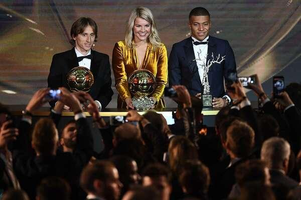 Luka Modric, Ada Hegerberg make soccer history