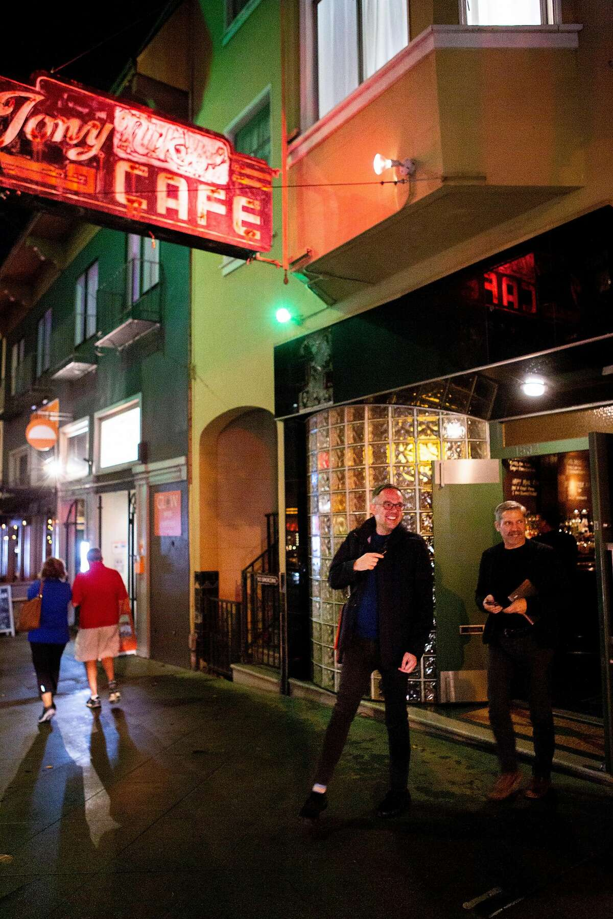 Tony Nik's in North Beach celebrated its 85th anniversary. It is now run by the grandson of the original owners, who opened it as Tony Nicco's.