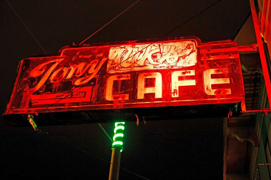 Tony Nik's on Stockton Street in North Beach celebrated its 85th anniversary. It is now run by the grandson of the original owners, who opened it as Tony Nicco's. Photo: Santiago Mejia / The Chronicle