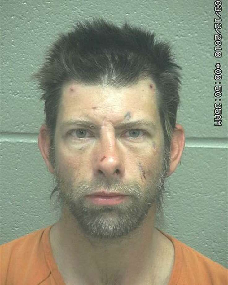 Robert Wilcox, 40was arrested Dec.2 after allegedly setting fire to grass along the Loop 250 service road, according to court documents.  Photo: Midland County Sheriff's Office