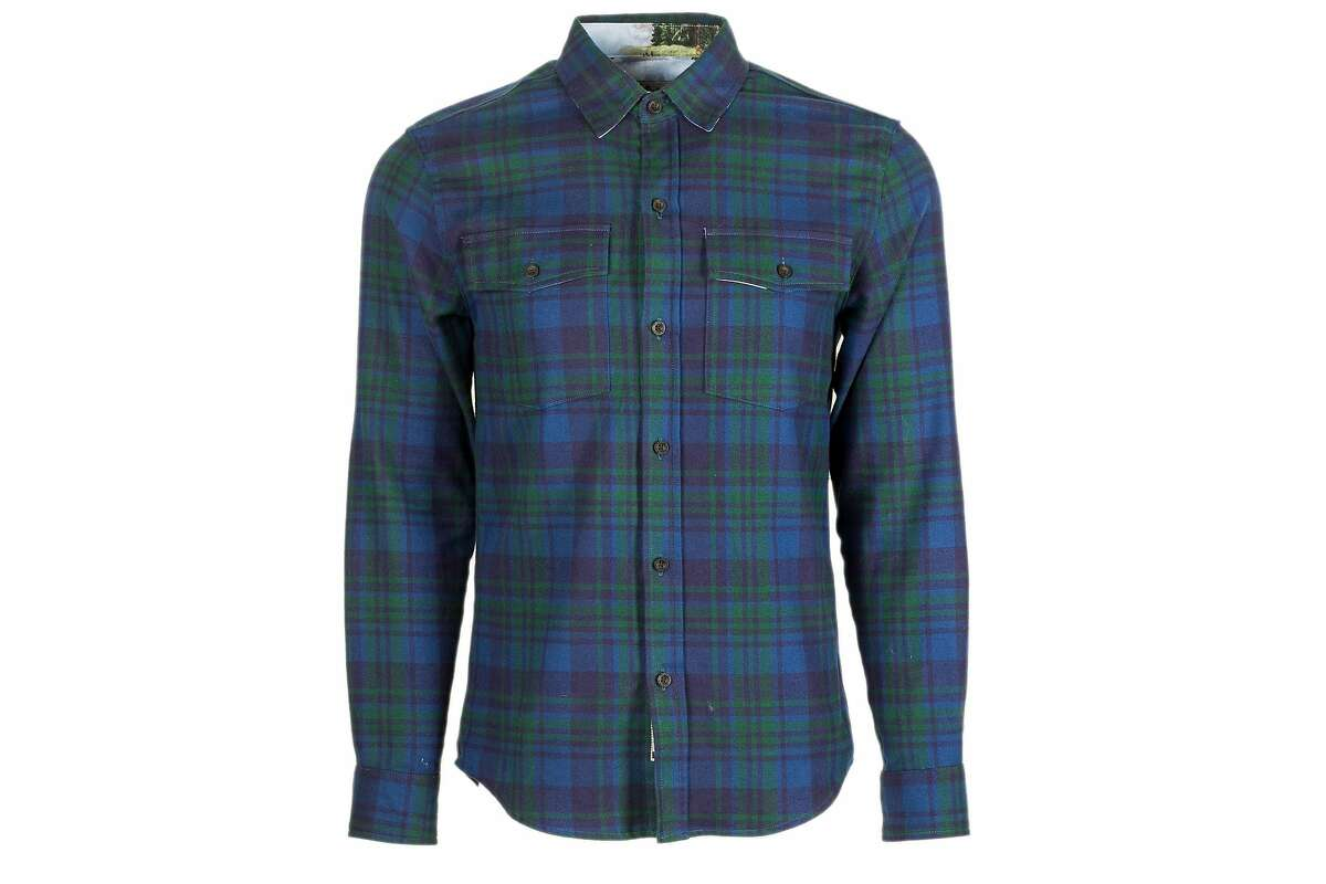 The Pladra Leon shirt in Presidio Green, $139.