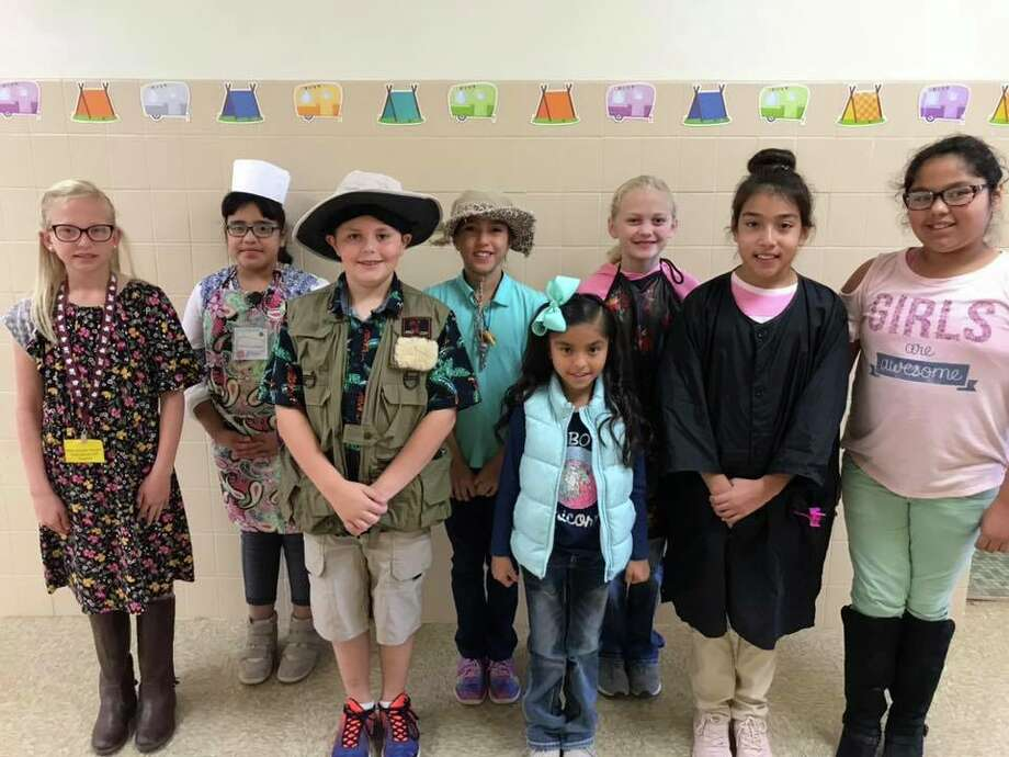 Petersburg ISD students were tasked with dressing for their dream career on Thursday. Photo: Courtesy Photos