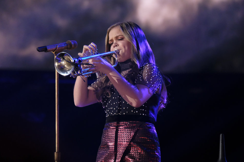 Houston's Sarah Grace blows her trumpet on 'The Voice'