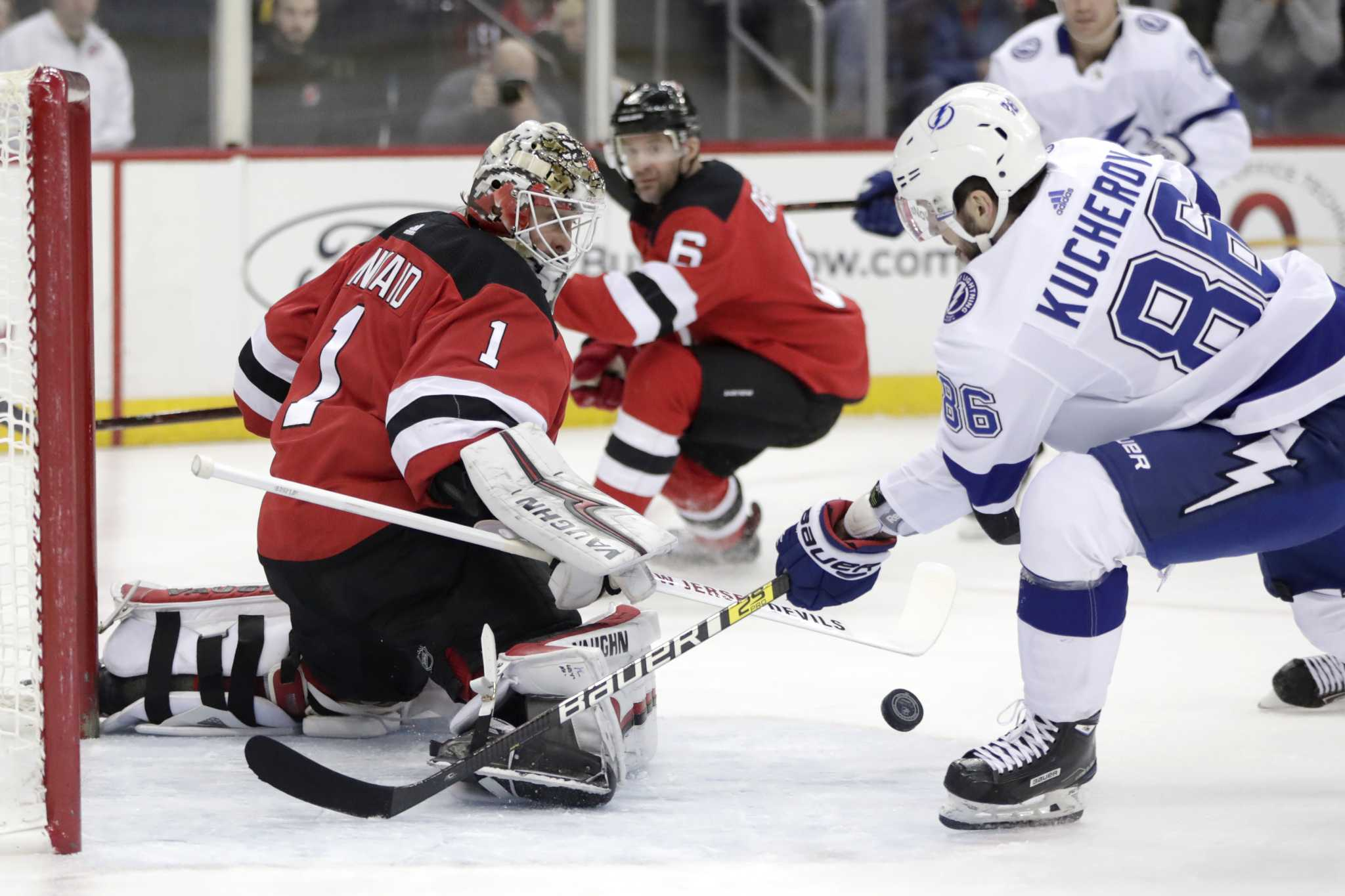 746768a8c8b Tampa blitzes Devils. Lightning first in ...