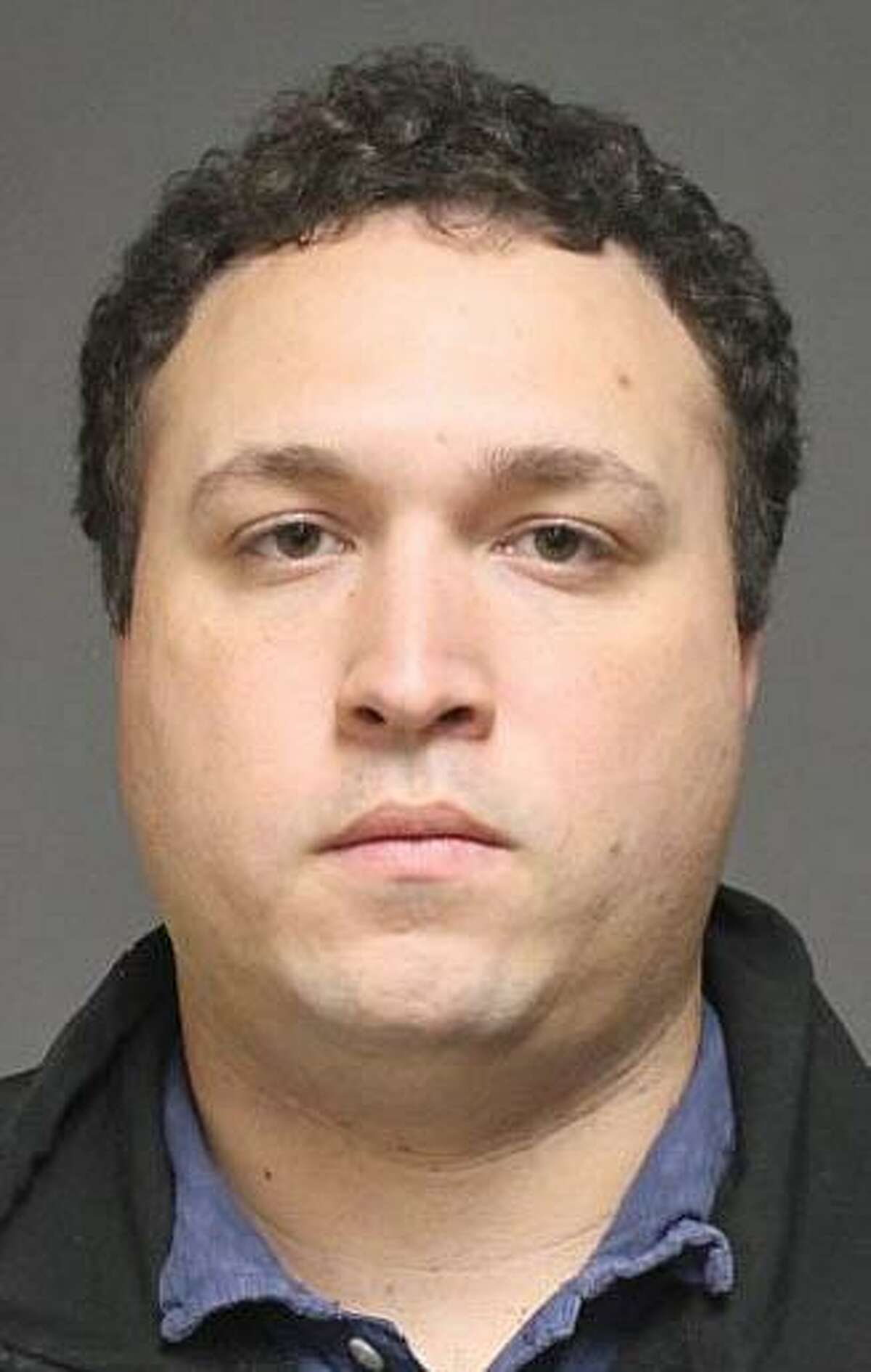 David Sharpe, 29, of Fairfield, was charged with public indecency and breach of peace. Sharp, a girl's soccer coach at Staples High School in Westport, resigned that position after speaking with Fairfield detectives.