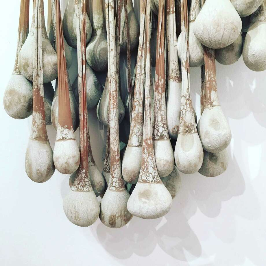 Amy Bilden's artwork favors organic forms. Photo: Contributed Photo