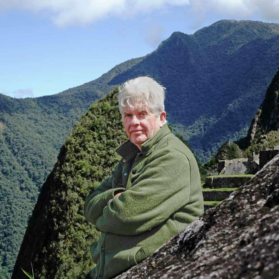 Author Christopher Woods. Photo: Ximena Nazal / The Washington Post