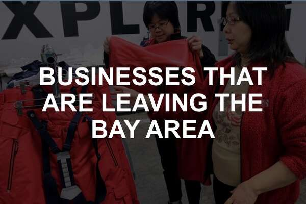 250c11c35ebadc 3of12Click through the gallery to see what businesses have left the Bay  Area.Photo  Paul Chinn   The Chronicle 2014