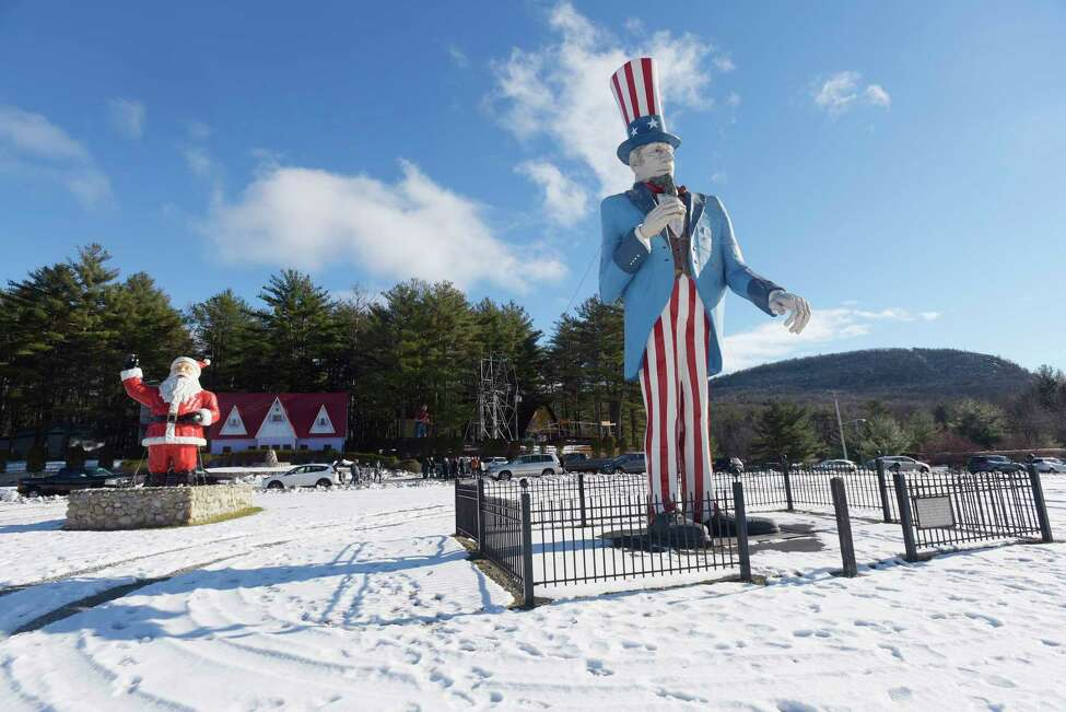 A view of the Magic Forest amusement park on Tuesday, Dec. 4, 2018, in Lake George, N.Y. An event was held at the park on Tuesday to announce a new owner of the park and to talk about a new attraction coming to the park called Dino Roar Valley. (Paul Buckowski/Times Union)