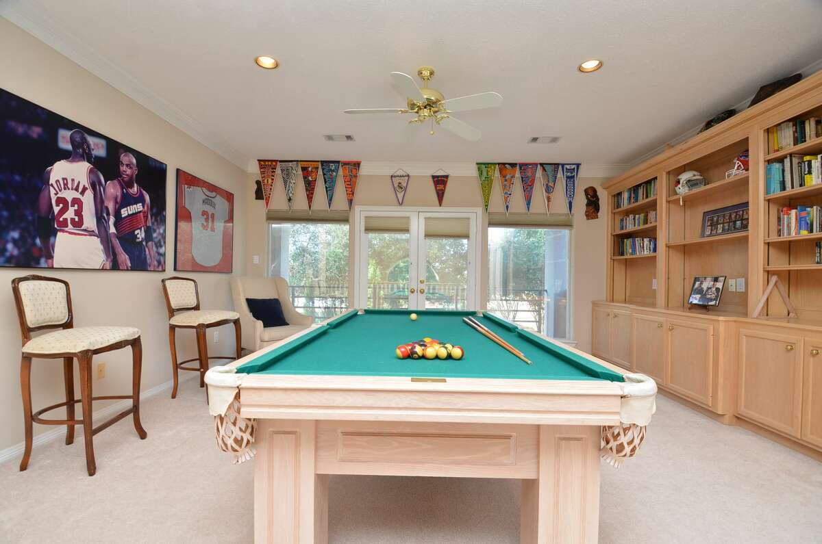The game room as it looked when Barkley sold the property.