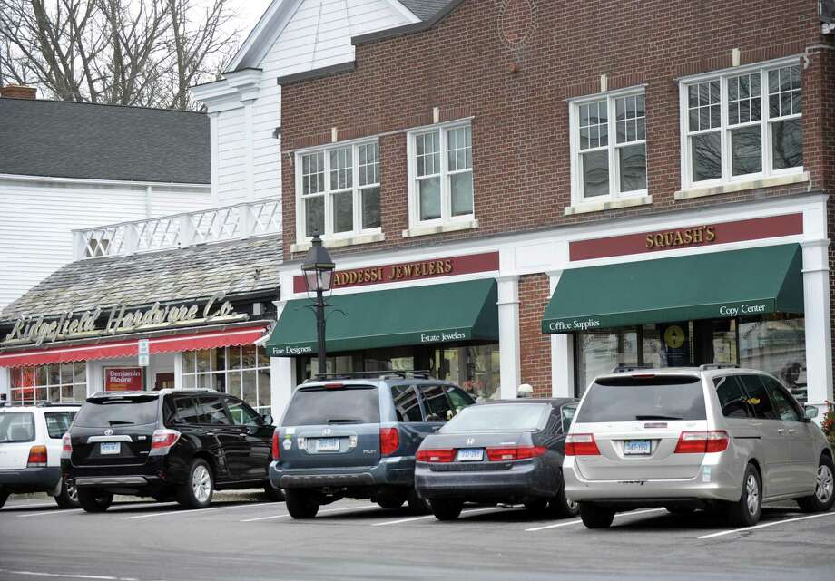 Ridgefield residents said in a survey that they do not want a parking garage, but do feel that parking is a problem in downtown Ridgefield. Photo of Main Street, Ridgefield, Conn., Wednesday, February 17, 2016. Photo: Carol Kaliff / Hearst Connecticut Media / The News-Times