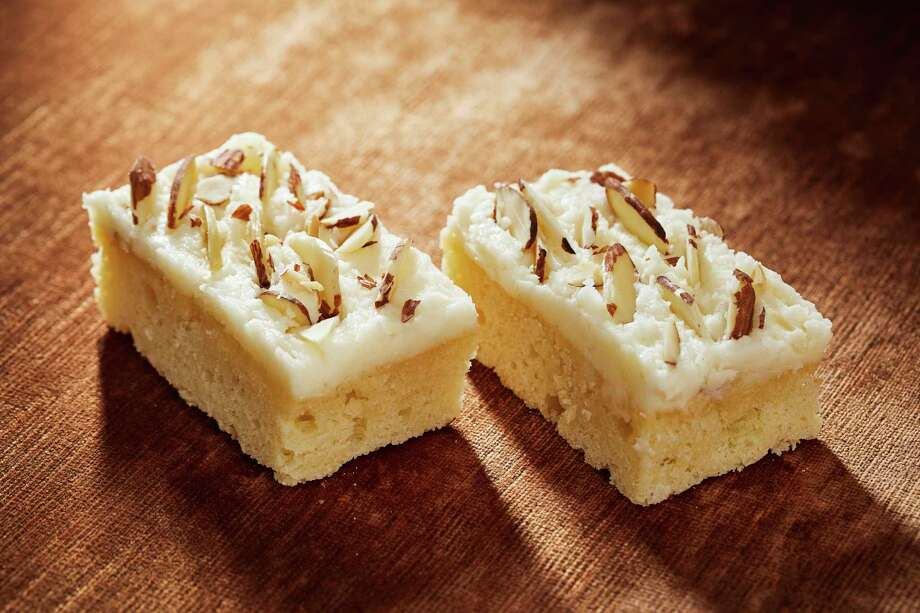Almond Ricotta Bars. Photo by Tom McCorkle for The Washington Post. Photo: Tom McCorkle, For The Washington Post / The Washington Post