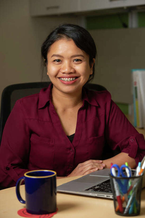 Russasmita Sri Padmi, of Indonesia, is a Fulbright US-ASEAN Visiting Scholar in the SIUE STEM Center. Photo: For The Intelligencer