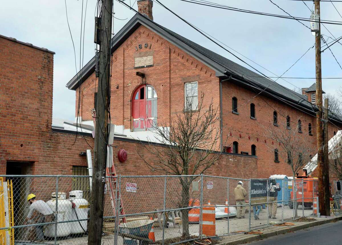 The 1891 Hinckel brewery stable is one of the three buildings being converted into the @HudsonPark apartment complex Tuesday Dec. 4, 2018 in Albany, NY. (John Carl D'Annibale/Times Union)