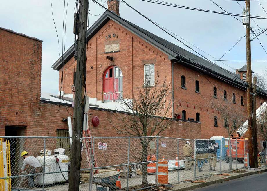 The 1891 Hinckel brewery stable is one of the three buildings being converted into the @HudsonPark apartment complex Tuesday Dec. 4, 2018 in Albany, NY.  (John Carl D'Annibale/Times Union) Photo: John Carl D'Annibale, Albany Times Union / 20045569A