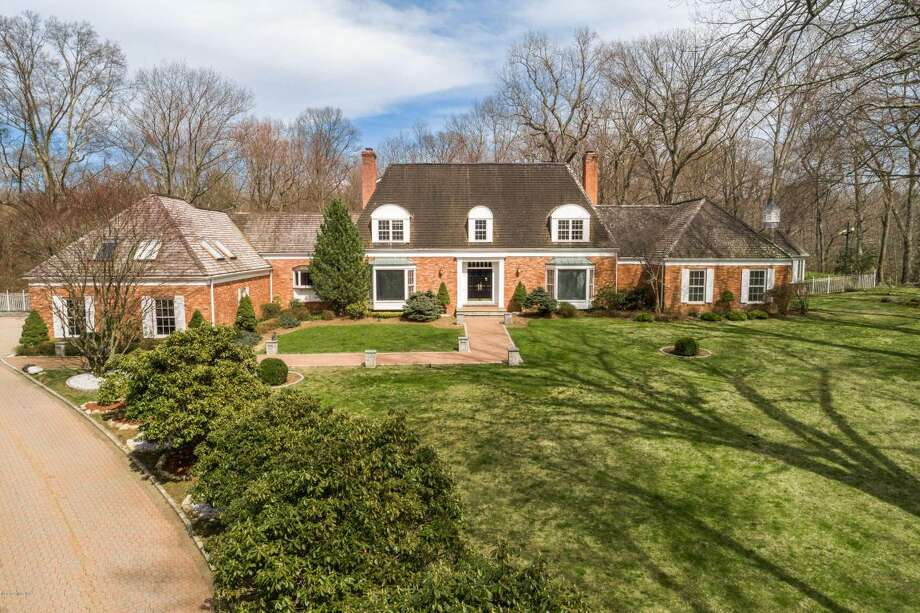 The buy of the week is a European-Styled brick estate at 599 Lake Ave. Photo: Courtesy Of The Multiple Listing Service