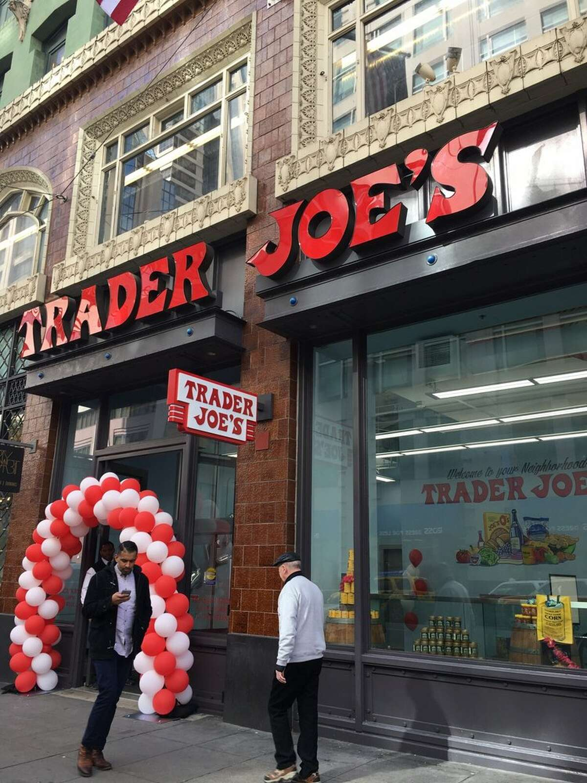 The top grocery stores in the U.S. 1. Trader Joe's