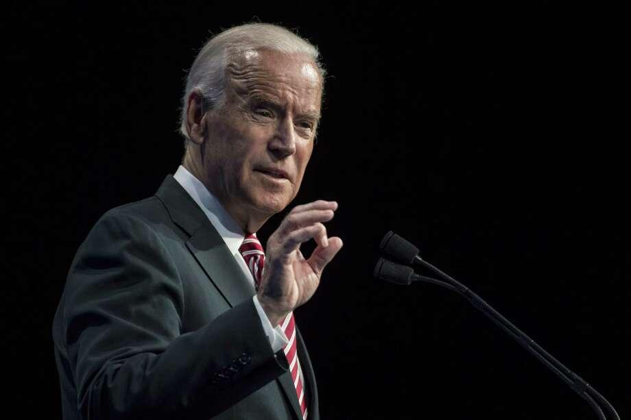 Former Vice President Joe Biden Photo: Bloomberg Photo By David Paul Morris / Bloomberg