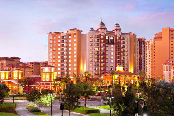 The Wyndham Grand Resort in Orlando.