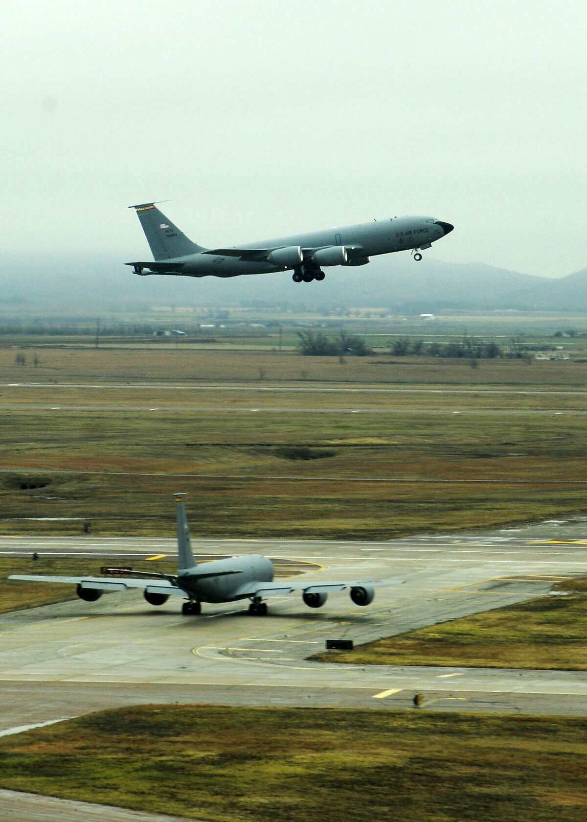 A new tanker will replace the Air Force's aging KC-135 Stratotanker fleet that refuels other aircraft in flight to extend their reach and capabilities.