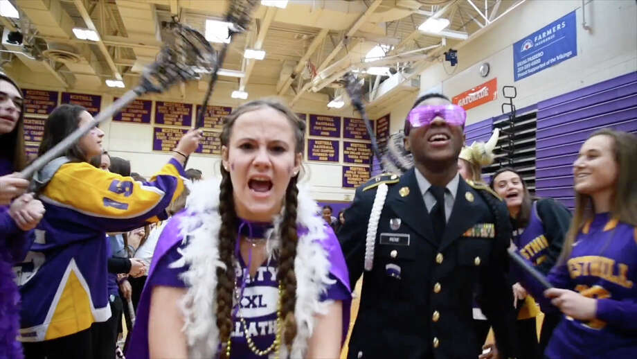 Images from the Westhill High School Lip Dub 2018. Photo: Westhill High School