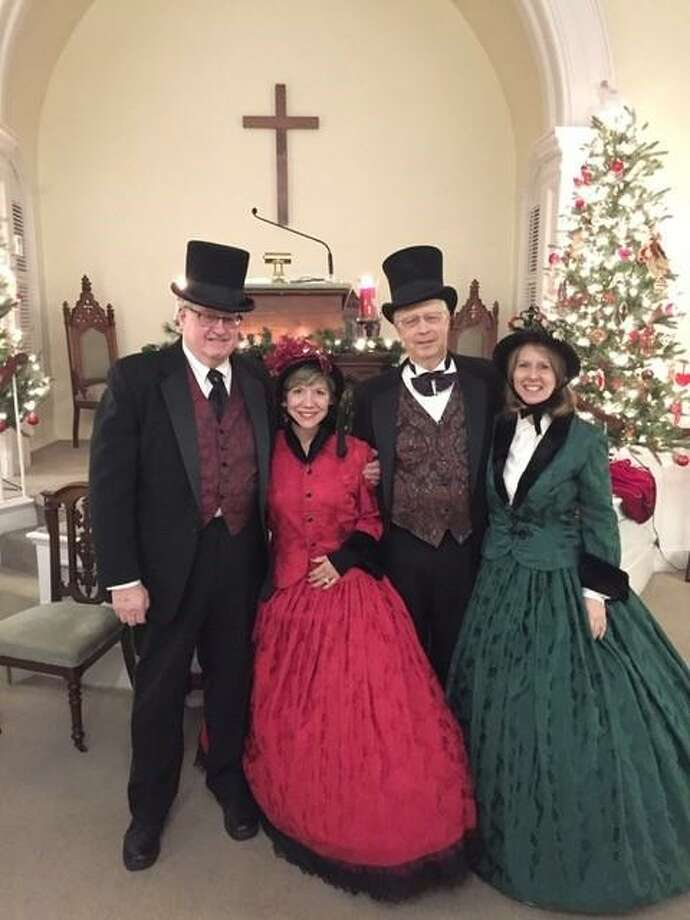 The Roxbury Congregational Church will hold a Victorian Christmas Service at 5 p.m. Sunday. Photo: / Contributed Photo