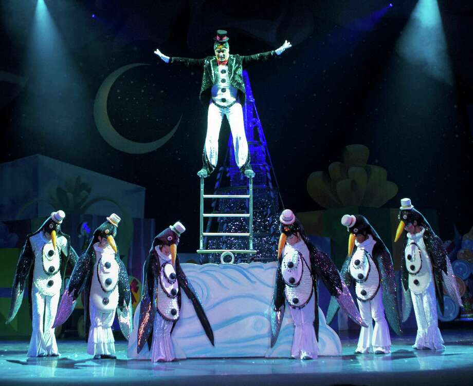 "The penguin scene in ""Cirque Dreams Holidaze."" Photo: Ian Ibbetson / Contributed Photo"