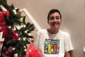 Alex joined a Best Buddies Chapter at a Norwalk middle school this year. He said he hopes to bond over football and video games with his assigned buddy.