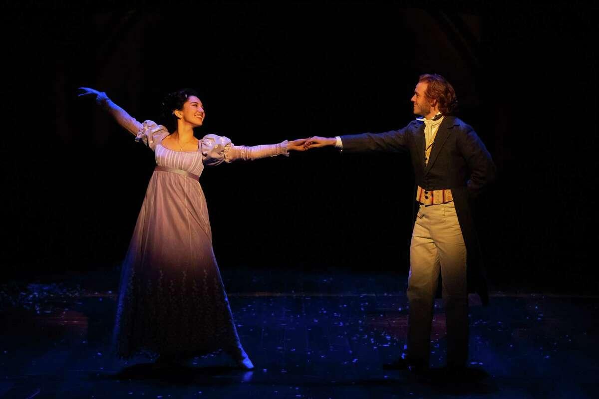 Melissa Molano plays Ebeneezer Scrooge's lost love in