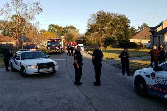 A 16-year-old female was shot in the leg with an AK-47 rifle on the 4000 block of Wintergreen Drive/ Woodland Hills Drive in Atascocita on Dec.4, 2018. Harris County Precinct 4 Constable deputies are currently investigating.
