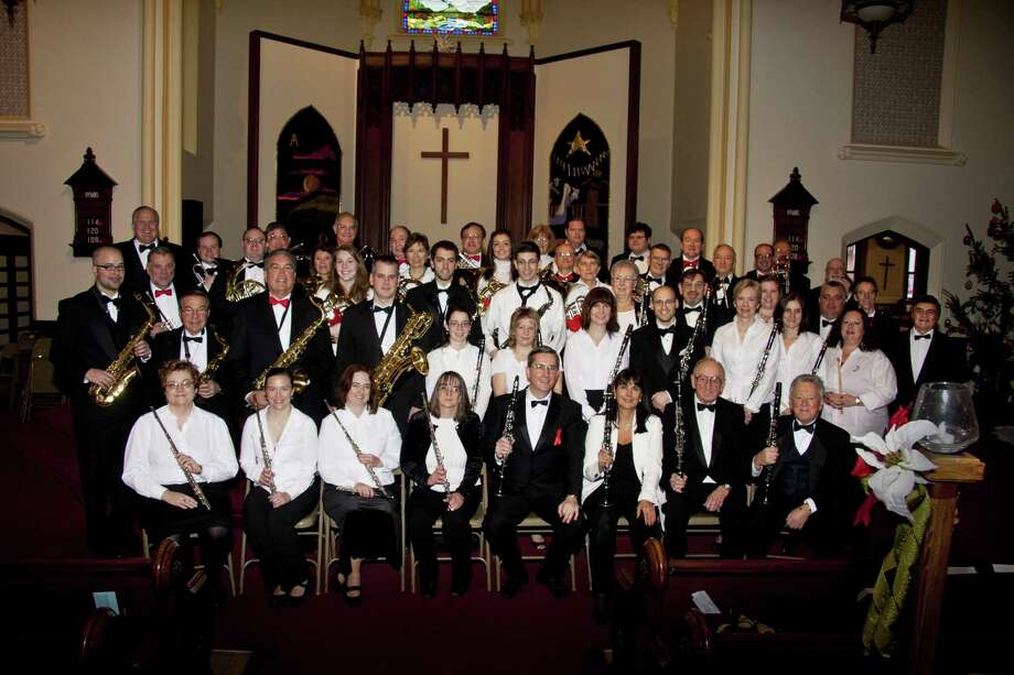 The Middletown Symphonic Band will perform its annual holiday concert with a reception to follow on Sunday, Dec. 9 at 2 p.m., at South Church, 9 Pleasant Street, Middletown. Photo: Contributed Photo