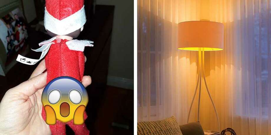 >>Elf on the shelf ideas: (Some more appropriate than others.)