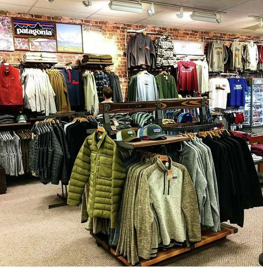 Edwardsville's Glik's location shows off its new in-store Patagonia shop for men. Glik's is only one of 12 clothiers nationwide to receive such a Patagonia shop. Photo: For The Intelligencer