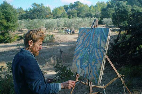 """Willem Dafoe the as the Dutch painter Vincent van Gogh t in """"At Eternity's Gate,"""" directed by visual artist and filmmaker Julian Schnabel. (CBS Films)"""