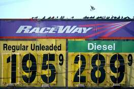 Gas prices have decreased in the past week by a little more than $.08 a gallon. Regular is advertised at $1.95 per gallon at Raceway in Port Arthur on Monday. Photo taken Monday, 12/3/18