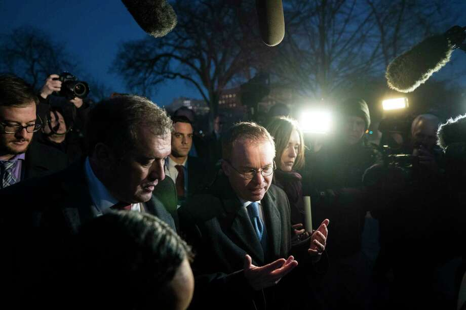 Mick Mulvaney had said he expected to be at the Consumer Financial Protection Bureau only a short time, until President Trump picked a permanent director. But in less than a month, he had officially turned the bureau's mission sharply in a new direction. Photo: Washington Post Photo By Jabin Botsford / The Washington Post