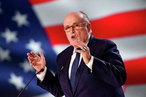 Former Mayor of New York Rudy Giuliani