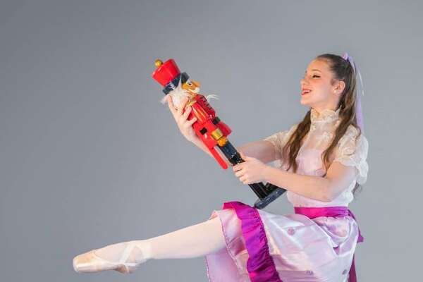 """FineLineTheatre Arts in New Milford will stage its 13th annual production of """"The Nutcracker"""" Dec. 21 at 7 p.m. and Dec. 22 at 1 and 6 p.m. at New Milford High School on Route 7 South. The cast will include Ashley Andreotto of New Milford, above, who will portray Clara."""