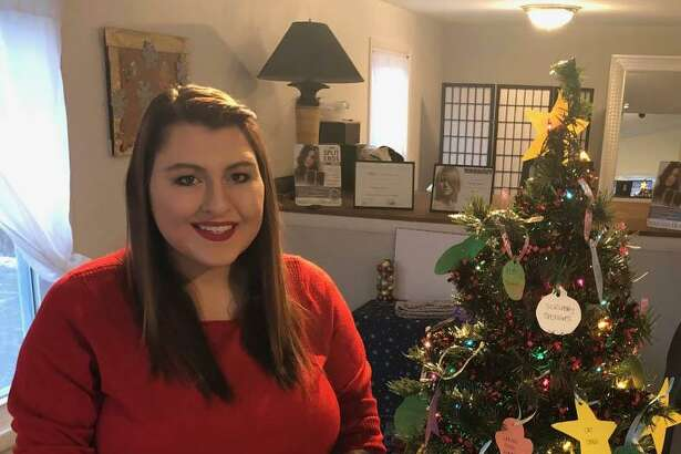 Amanda Shrack, owner of Amanda Rose Salon & Boutique in New Milford, is offering a holiday giving tree to support Animal Welfare Society in town.